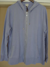 Chicos Zenergy Jacket Size 3 16 18 Amethyst Cotton Cashmere Shine XL New 1X