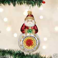 *Kris Kringle Reflector* Vintage [42014] Old World Christmas Glass Ornament- NEW