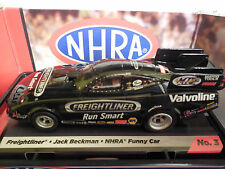 AUTO WORLD ~JACK BECKMAN FREIGHTLINER FUNNY CAR ~ NEW IN JEWEL~ FITS AFX, AW, JL