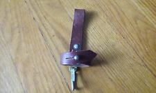 Soviet russian army AK bayonet leather belt holder hanger