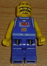 Lego City 1 Basketballspieler Nr. 9 in lila mit Federhose