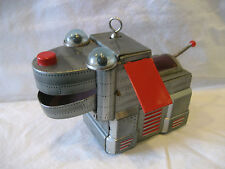 vintage Yoshiya SPACE DOG windup tin toy robot made in Japan KO original cute !!