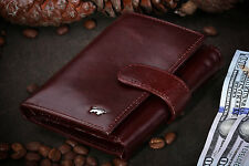 Braun Buffel Women's Genuine Leather Brown Wallet for Lady