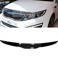 San Black Front Hood Guard Bug Shield  Molding for KIA 2011 - 2015 Optima / K5