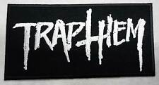 TRAP THEM embroidred patch All Pigs Must Die Nails Cursed Converge Pig Destroyer