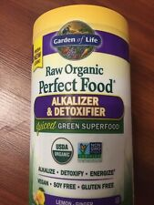 Garden of Life Perfect Food Alkalizer & Detoxifier 10.1oz. Organic Lemon Ginger