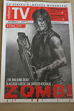 TV 1-7.04.2016 Walking Dead on front cover Polish Magazine