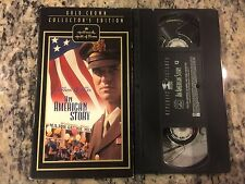 AN AMERICAN STORY RARE HALLMARK HALL OF FAME VHS! 1992 WWII VETS FIGHT AT HOME!