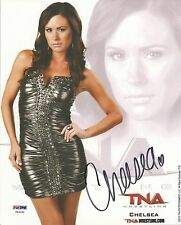 Chelsea Signed 8x10 Photo PSA/DNA COA TNA Impact Wrestling Picture Autograph WWE