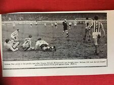 m2M ephemera 1966 football picture referee weir tommy mclean kilmarnock