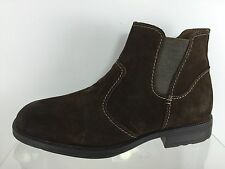 Hush Puppies Mens Brown Leather Ankle Boots 10.5