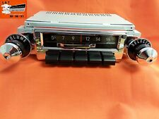 1955 Chevy AM-FM Slide Bar Radio Replacement Factory Fit Belair Sedan Hardtop