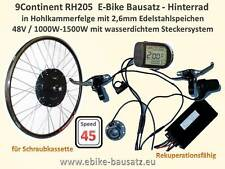 Power E-Bike Umbausatz 1000W 28 Zoll 45km/h und mehr Ebike Bausatz für Powerbike