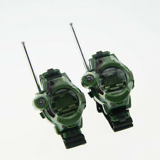 1 Pair Watches Walkie Talkie 7 in 1 Children Watch Radio Outdoor Interphone Toy