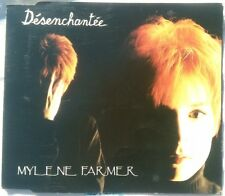 RARE MAXI CD SINGLE CRYSTAL PACK MYLENE FARMER DESENCHANTEE FRANCE 1991 BE+