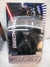 STAR WARS ACTION FIGURE UNLEASHED DARTH VADER SCULPTURE BOX MOC TOY 2005 HASBRO