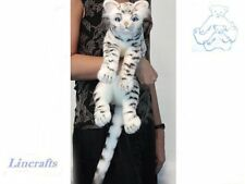 Cuddly Bengal Cat  Plush Soft Toy Feline by Hansa. 6351