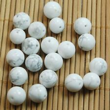 10pcs Natural Howlite Turquoise Round Spacer Beads Natural Gemstone 10mm