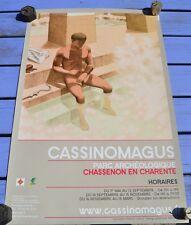 Affiche Chassenon site antique de Cassinomagus, saison 2009, 60 x 40 cm, couleur