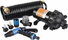 SEAFLO 12V 5.0 GPM 70 PSI Washdown Deck Wash Pump KIT for Caravan Rv Boat Marine