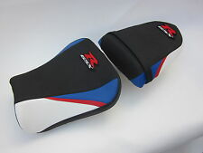 S53 Suzuki GSXR 600 750 - K4 K5 seat cover Red/White/Blue- SET