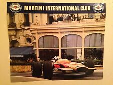 Monaco Grand Prix,Jackie Stewart 1970 Martini Int ClubExtremely Rare Car Poster!