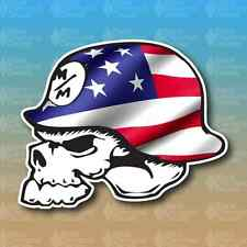 "Metal Mulisha American Flag Merica 3"" Custom Vinyl Decal Sticker JDM"