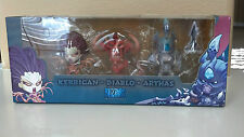 "Blizzcon 2013 ""Cute But Deadly"" Arthas Kerrigan Diablo Miniature Action Figures"