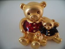 SALE! Estee Lauder TEDDIE BEARS 'BEAUTIFUL' SOLID PERFUME Compact FULL