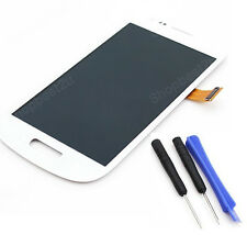 Neuf Blanc COMPLET LCD VITRE TOUCH ECRAN POUR SAMSUNG GALAXY S3 Mini i8190