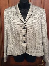 DESIGNER White & Black ALBERT NIPON Jacket 12
