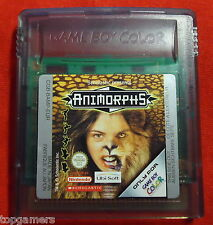 Animorphs - Ubisoft - Nintendo Game Boy color / Advance