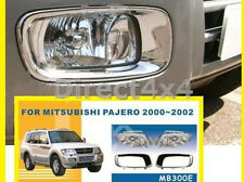 Mitsubishi Shogun Pajero Front Fog Spot Light Lamp Kit Spare Part Replacement