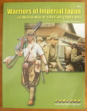 WARRIORS OF IMPERIAL JAPAN IN WORLD WAR II 1941-1945 REFERENCE BOOK Antonucci