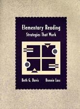 Elementary Reading: Strategies That Work-ExLibrary