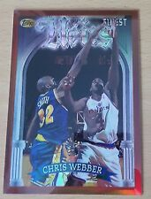 1996-97 Finest Refractors #163  B  Chris WEBBER