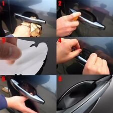 4PCS US Universal Invisible Car Door Handle Scratches Protective Protector Films