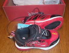 Sz 6 CARS LIGHTNING MCQUEEN RED & BLACK TODDLER SHOES NEW VERY NICE