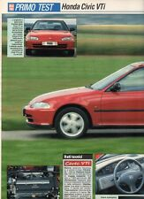 SP20 Clipping-Ritaglio 1991 Honda Civic VTi