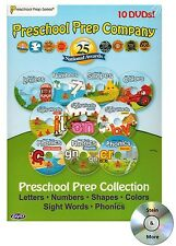 Preschool Prep Series DVD Learning Educational Collection - Set of 10 DVD's