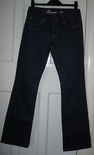 BOOTCUT  OR  Ladies Dark Blue  Cotton/Spandex  Bootcut Jeans  Size-8/10