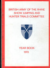 British Army of the Rhine Show Jumping and Hunter Trials Committee Konvolut 9 #
