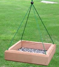 Songbird Essentials 9 x 9 Hanging Tray Feeder Bird Feeder SE530