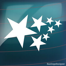 15x STARS Pack for Bike,Car,Van,Window,Wall,Laptop Vinyl Decal Stickers