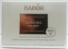 Babor Shaping For Body Vitamin A.C.E Body Cream 200ml 7 oz 2015 New Packaging