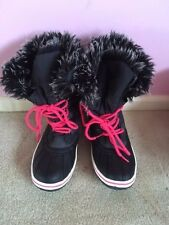Womens/Girls Snow Boots from Next Size 3