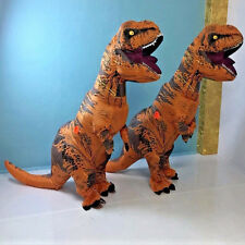 Inflatable Jumpsuit Dinosaur Blow Up Christmas Costume Outfit Stag Adult T-Rex