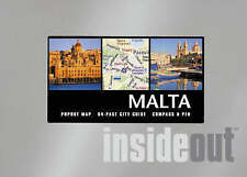Malta (InsideOut City Guides), Compass Maps, 1841398721, New Book
