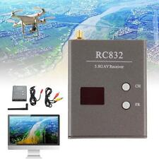 32Ch 5.8G 600mw 5km Inalámbrico AV Transmisor-receptor RC832 Para FPV