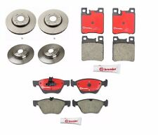 NEW Mercedes W163 Set of 2 Rear and 2 Front Disc Brake Rotors Brembo & Pads